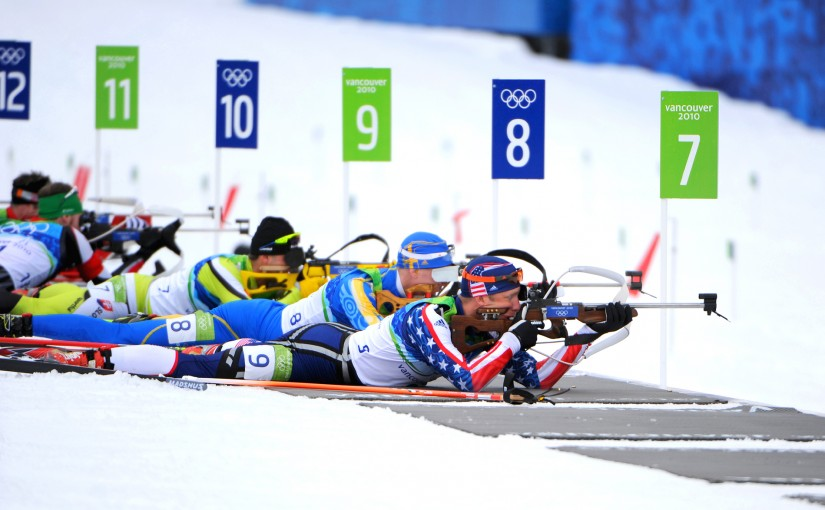 [Sports] Don't miss a shot in biathlon races