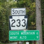 PA route 233, by Gerry D